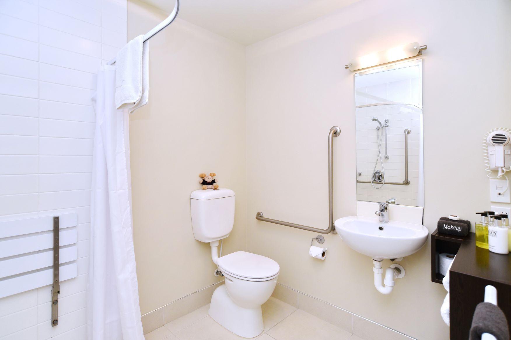 Room 18 Access bathroom