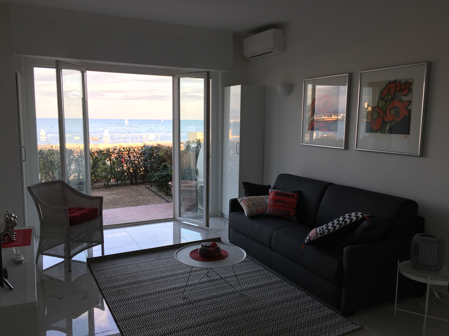 Studio-D Deluxe, sea view, 2 P